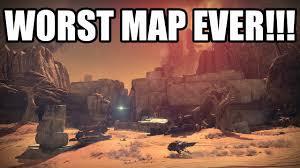 Destiny Maps Worst Map Ever Destiny Crucible Gameplay Pvp Multiplayer