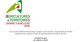 chambre d agriculture indre mairie de rouvres les bois visite gratuite unite de methanisation