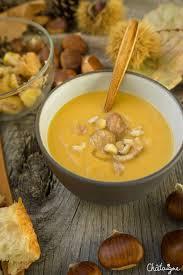 cuisiner la chataigne soupe potiron châtaignes soupe potiron chataigne chataigne et soupes
