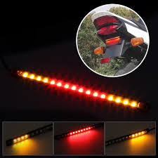 Motorcycle Led Strip Lights by Amazon Com Universal Led Strip For Motorcycle Tail Brake Stop
