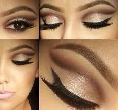 eyes and natural makeup brown natural eyeshadow