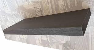 mensole rovere grigio ve ca s r l mensola moderna 60x23 spessore 4 m it casa