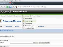 how to install a joomla template downloaded free from freehostia