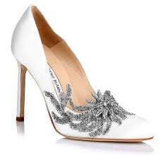 wedding shoes luxury manolo blahnik s fw15 collection includes swan s wedding
