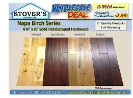 napa birch truckload hardwood special stover s liquidation