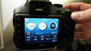 how to change aperture on nikon d3300 youtube