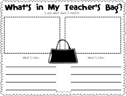 what u0027s in my teacher u0027s bag making inferences the inspired apple