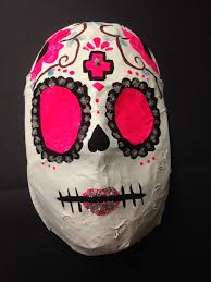 day of the dead masks the smartteacher resource 3d paper mache day of the dead masks