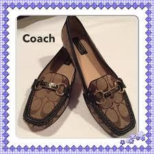 coach estée loafer nwt brown nwt thanksgiving sale price