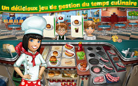 jeux jeux jeux de cuisine cooking fever applications android sur play