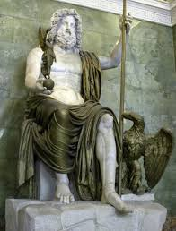 statue with marble naturally illuminated the statue of zeus at olympia the
