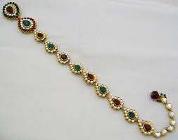 hair accessories for indian weddings kundan choti south indian wedding hair accessories