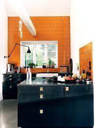white kitchen cabinets orange walls tile file orange black kitchen cococozy