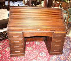 Antique Oak Secretary Desk With Hutch by Bradford Oak Roll Top Desk Value Best Home Furniture Decoration