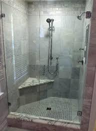 Frosted Glass Shower Door Frameless Frameless Glass Shower Door Frameless Shower Door Using Brushed