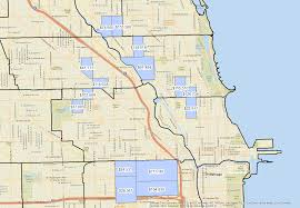 Census Tract Map Chicago by Chicago Neighbors With Greatest Income Disparities Chicago Data Guy