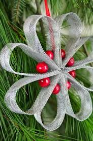 easy and to make ribbon and bead ornaments i m