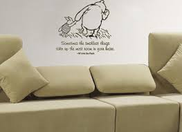 classic pooh crib bedding winnie the decals walmart nursery wall