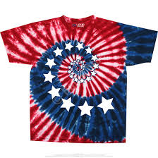t shirt australian shepherd americana stars and stripes spiral tie dye t shirt liquid blue