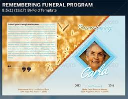 free funeral program templates for word enwurf csat co