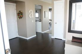 White Kitchen Cabinets With Grey Walls by White Kitchen Cabinets With Dark Wood Flooring Amazing Home Design