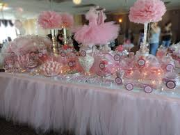 tutu centerpieces for baby shower 31 baby shower candy table decoration ideas table decorating ideas