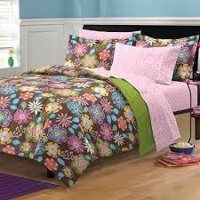 Walmart Girls Bedding My Room Zebra Complete Bed In A Bag Bedding Set Black White