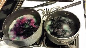 chemknits breaking black food coloring wilton vs mccormick