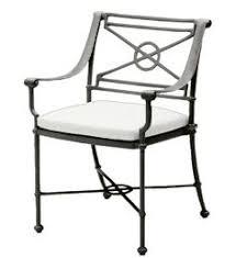 Woodard Cortland Cushion Patio Furniture Outdoor Woodard Cortland Cushion High Back Patio Dining Chair