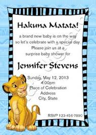 lion king invite doing this for my first child cute robbie u0027s