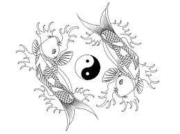 koi fish yin yang by houksta on deviantart