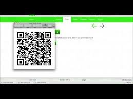 Create Qr Code For Business Card How To Create A Qr Code For Your Business Card Youtube