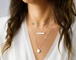 layer necklace images Layer necklace etsy jpg
