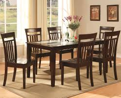 astounding round glass top dining table with rounded brown black