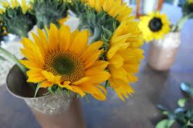 simple foraged floral arrangement diy gold and bloom
