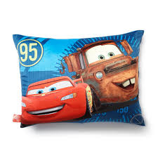 disney cars bed pillow lightning mcqueen mater