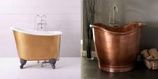 bathtubs for small spaces 9 small bathtubs tiny bath tub sizes elledecor com