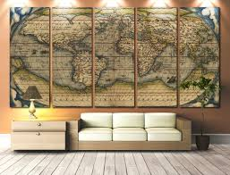 Framed World Map by Inspirational Old World Map Wall Art 69 For Your Framed Wall Art