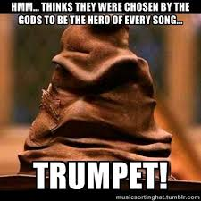 What Does Meme Mean In French - the music sorting hat what does it mean by thinks marching band