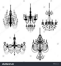 Black Chandelier Clip Art Chandelier Clip Arts Stock Illustration 80617459 Shutterstock
