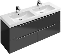Double Vanity Basins Bathroom Furniture Basin U0026 Vanity Units Villeroy U0026 Boch Subway