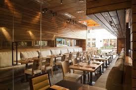 restaurant with wood concept interiordesign