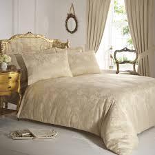 Curtain And Duvet Sets Vantona Rose Damask Duvet Cover Sets Gold New Arrivals