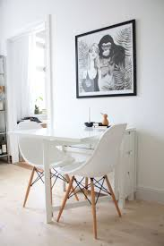 dining room and kitchen combined ideas interior simple casual small dining room design with round white
