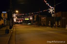 Main Street Lighting Vintage Christmas Lights In Lamar