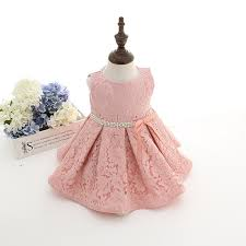 newest infant baby birthday party dresses baptism christening
