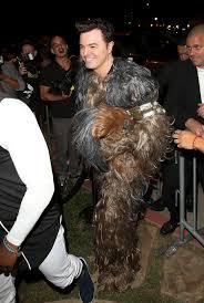 Wookie Halloween Costume Seth Macfarlane Celebrity Halloween Costumes 2015 Zimbio