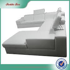 canap forme u salon u forme coin blanc en cuir meubles canapé canapé salon id de