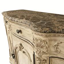 Jessica Mcclintock Bedroom Furniture Buffet With Marble Top By American Drew Wolf And Gardiner Wolf