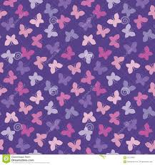 seamless hipster background butterflies pink purple stock vector